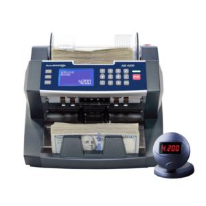 AccuBANKER 4200 – bank grade bill counter