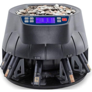 Coin Sorter/Coin Roller and Wrapper Machine