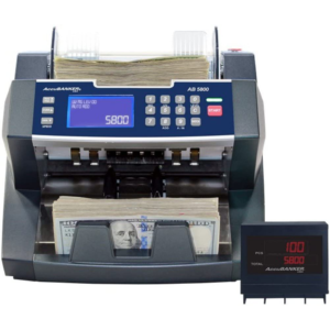 AccuBANKER 5800 – bank grade batch value bill counter