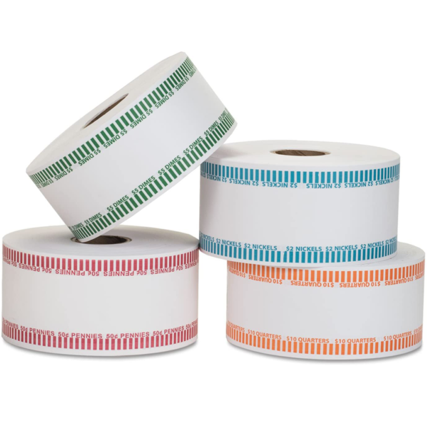 Automatic Coin Wrap Rolls