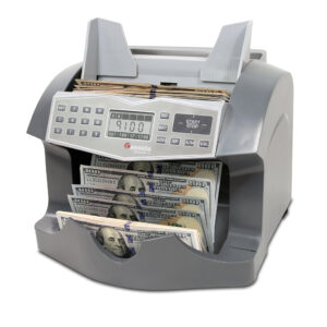 Cassida Advantec 75 – heavy-duty bill counter with counterfeit detection