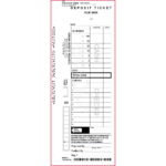 Sample Deposit Ticket