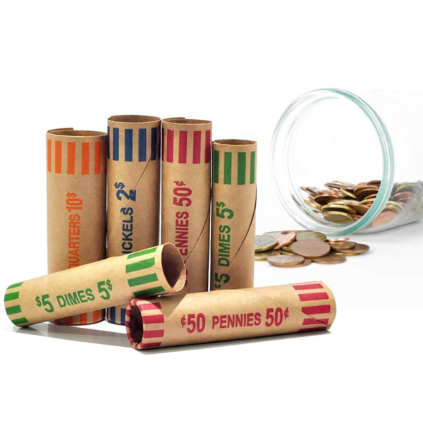 Gunshell Coin Wrappers – US denominations