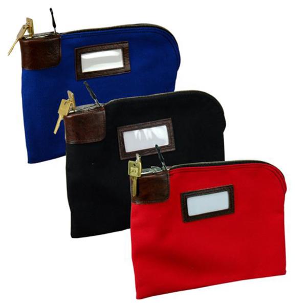 Locking Night Deposit Bag (custom colors)