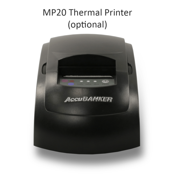 MP20 Thermal Printer - thermal printer compatible with numerous AccuBANKER products