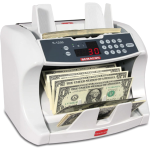 Semacon S-1200 – high-speed, bank grade currency counter