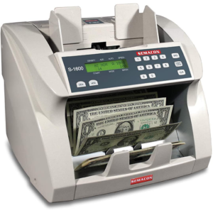 Semacon S-1600 – ultra high-speed, bank grade currency counter