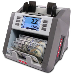 single-pocket currency discriminator with counterfeit detection