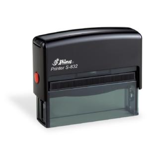 Shiny S832 Three-Line Endorsement Stamp