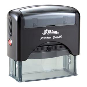 Shiny S845 Six-Line Endorsement Stamp