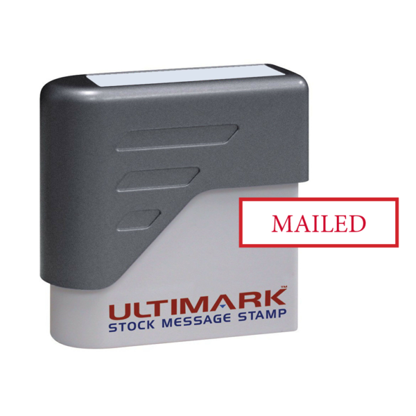 Stock Message Stamp - Mailed