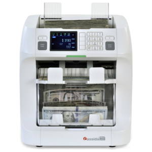 Cassida Pro Zeus - mixed currency discriminator with value counting