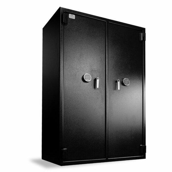 "Heavy-Duty Inventory Safe 2-Door (72""H X 48""W X 27""D) - Closed"