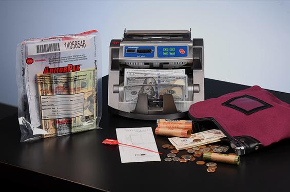various secure cash management products